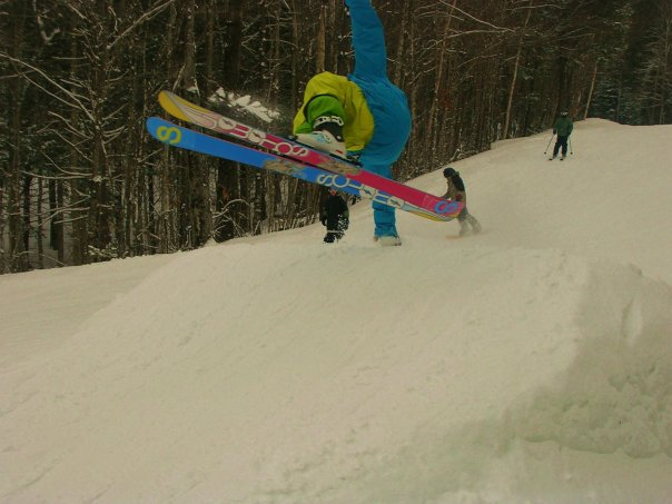 Me doing a hand drag off a jump