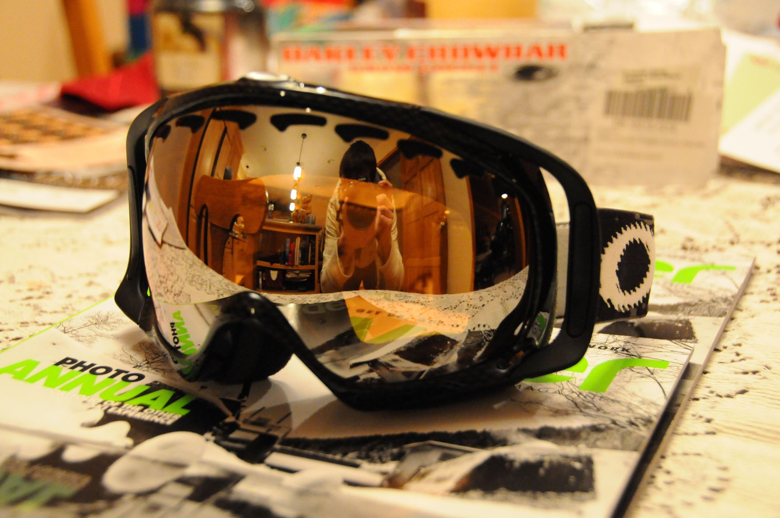 Crowbar w/ carbon fiber frame and black iridium lens