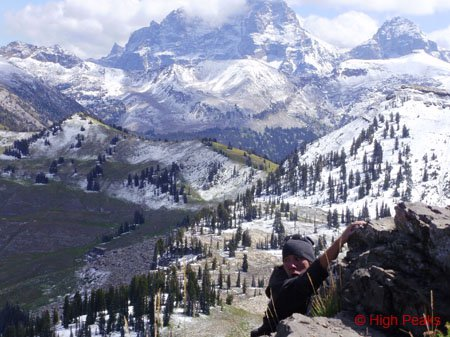 Free climbin in the Tetons