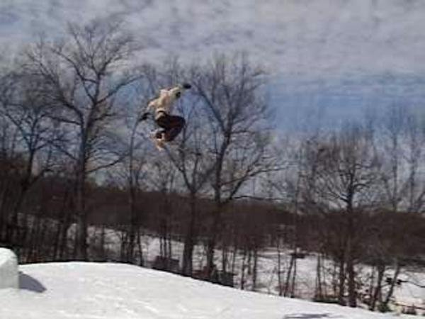 Cascade Big Air Hit From Last Year