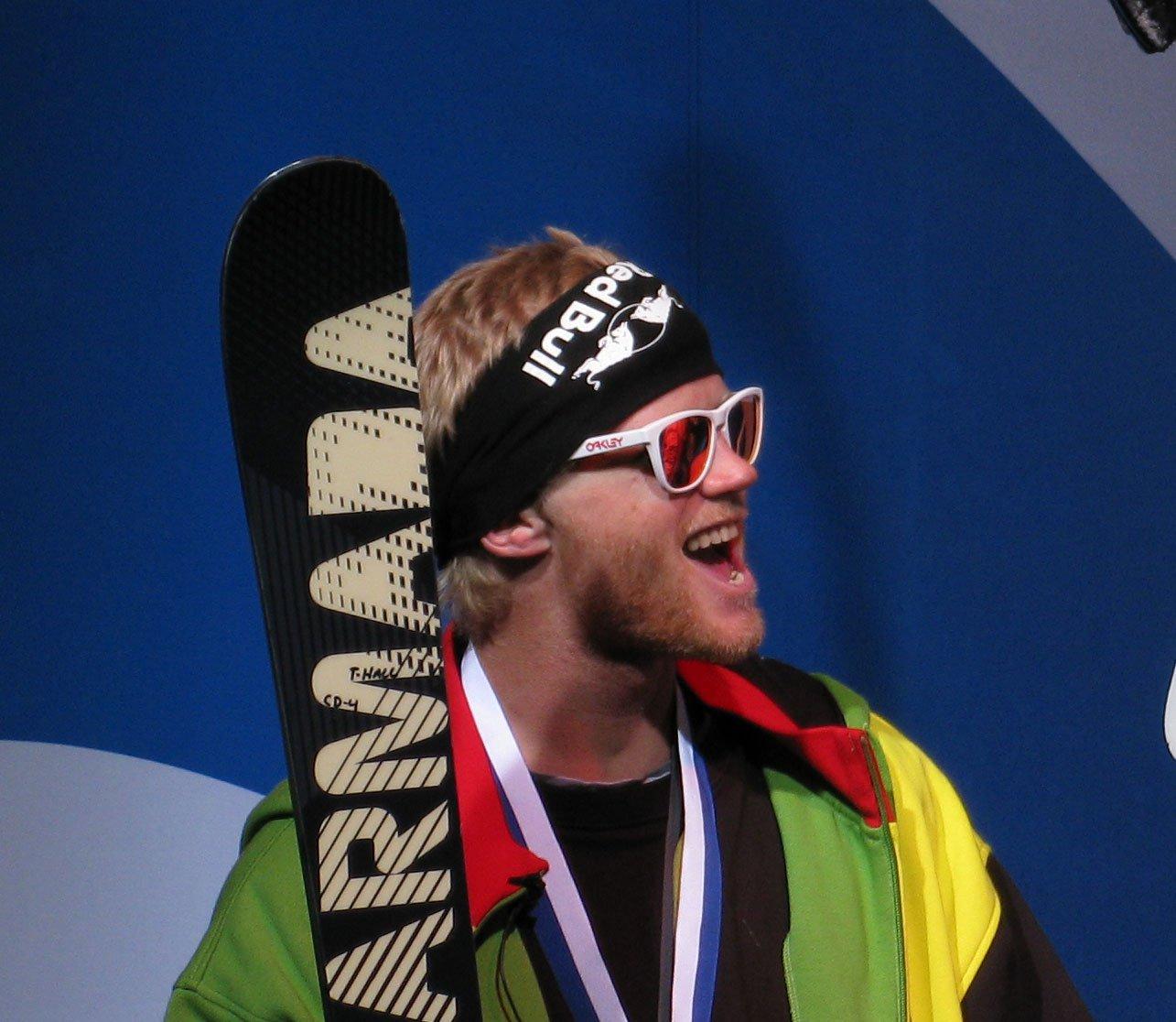 Tanner on the X podium