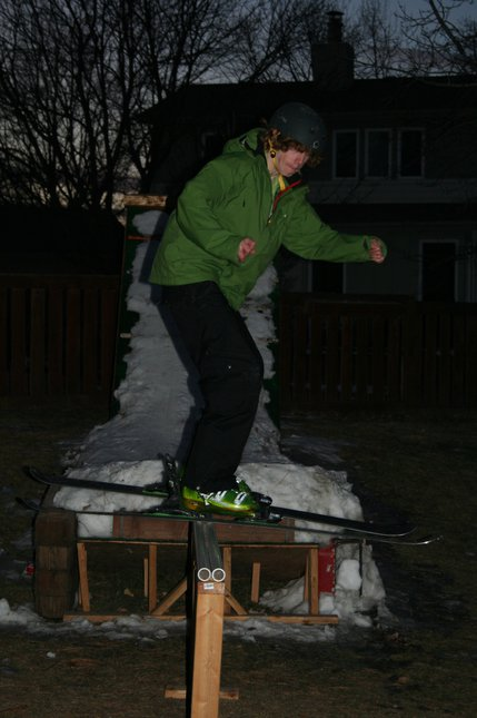 Skiing Blind