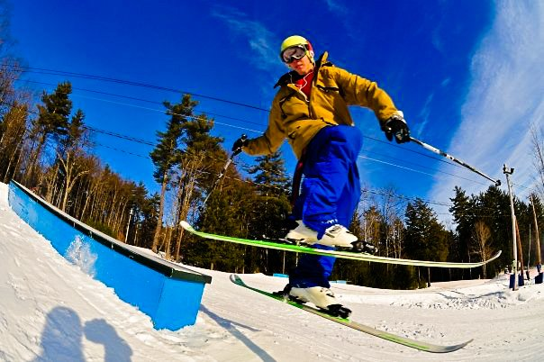 Park Skiing