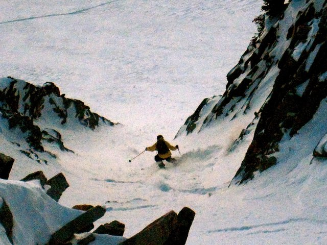 Big mtn xxxtreme skiing