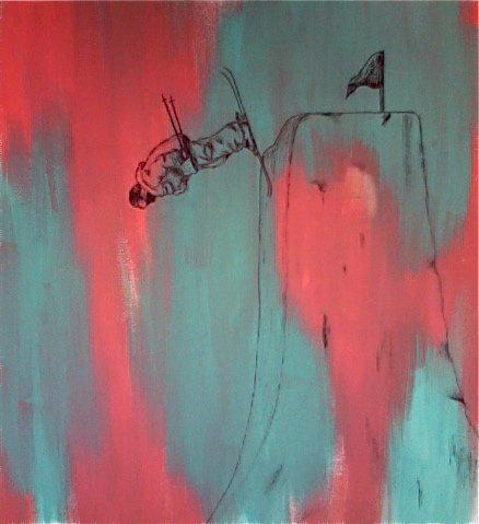 Painting of Craig Coker