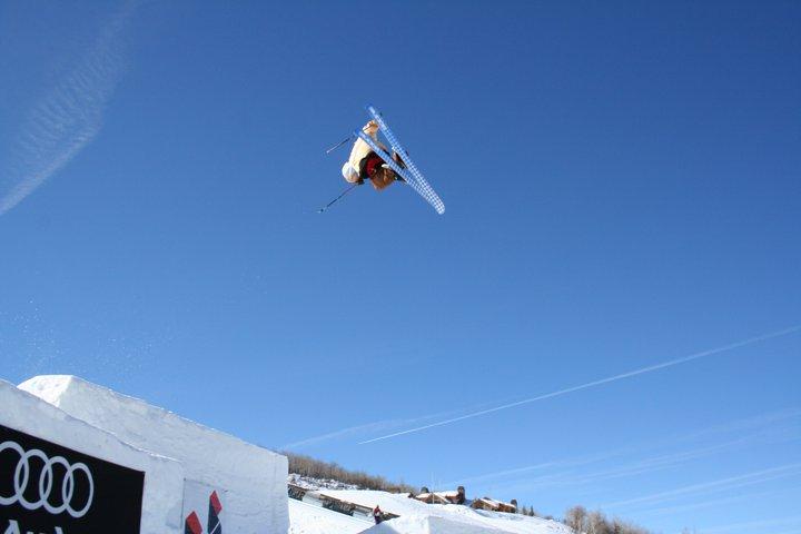 Kolby Ward Training for Aspen