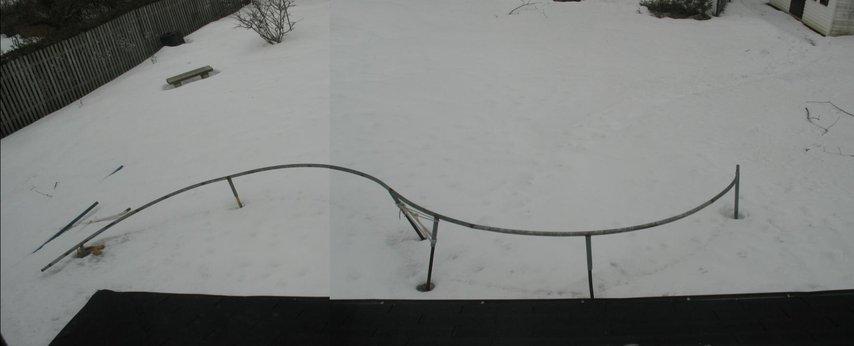 S-rail backyard set-up, 48ft