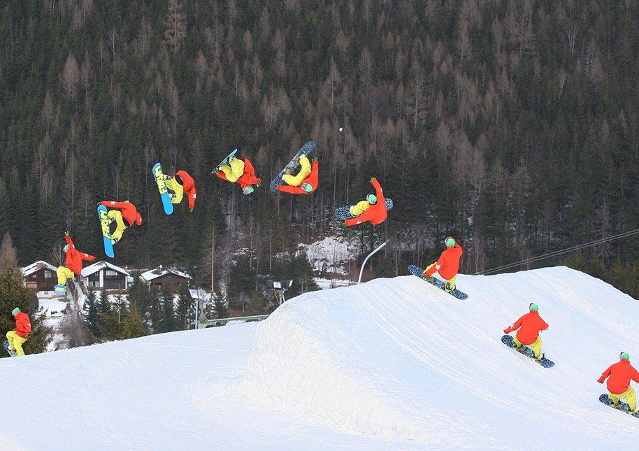 Snowboard fs rodeo 5