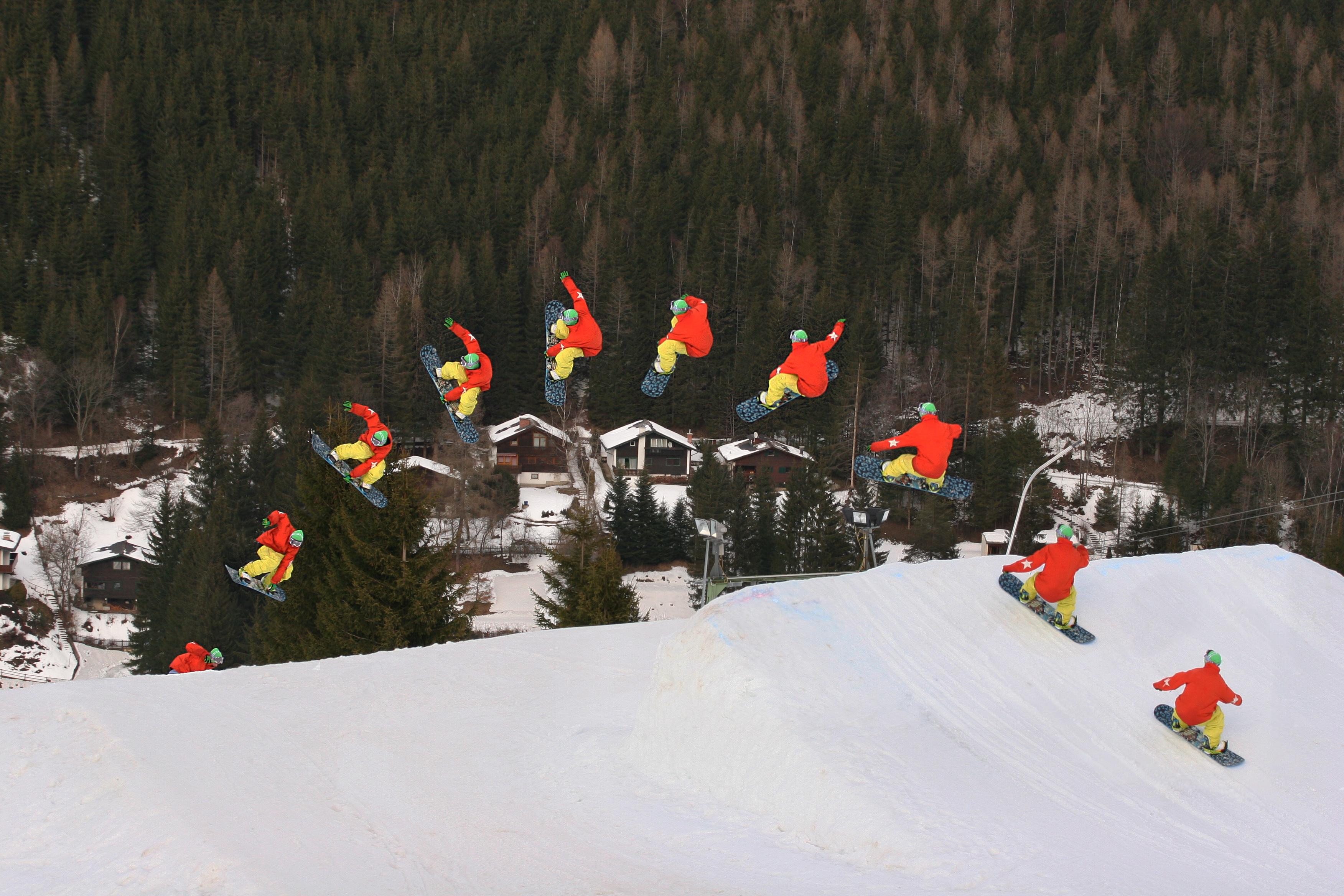 Snowboard fs indy 3