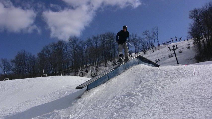 Video still: Sam on flat down