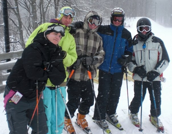 Alma college ski team