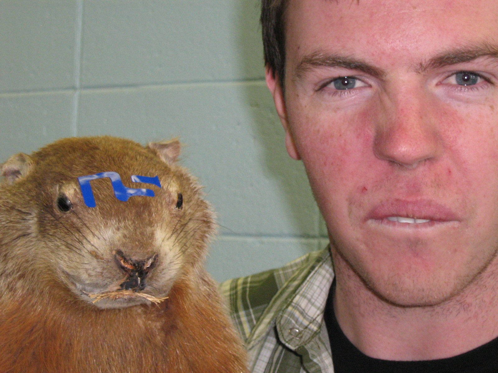 Me and my beaver