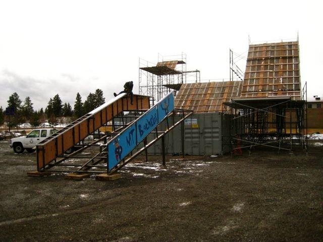 Bend Winterfest Construction