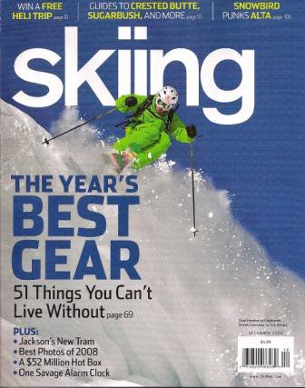 Skiing Mag cover