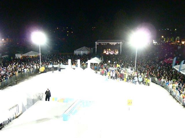 Bend Winterfest 2009 Crowd