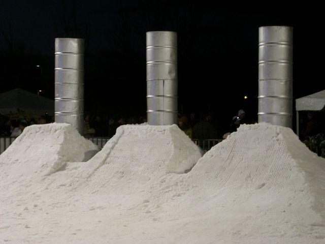 Bend Winterfest 2009 Smoke Stacks