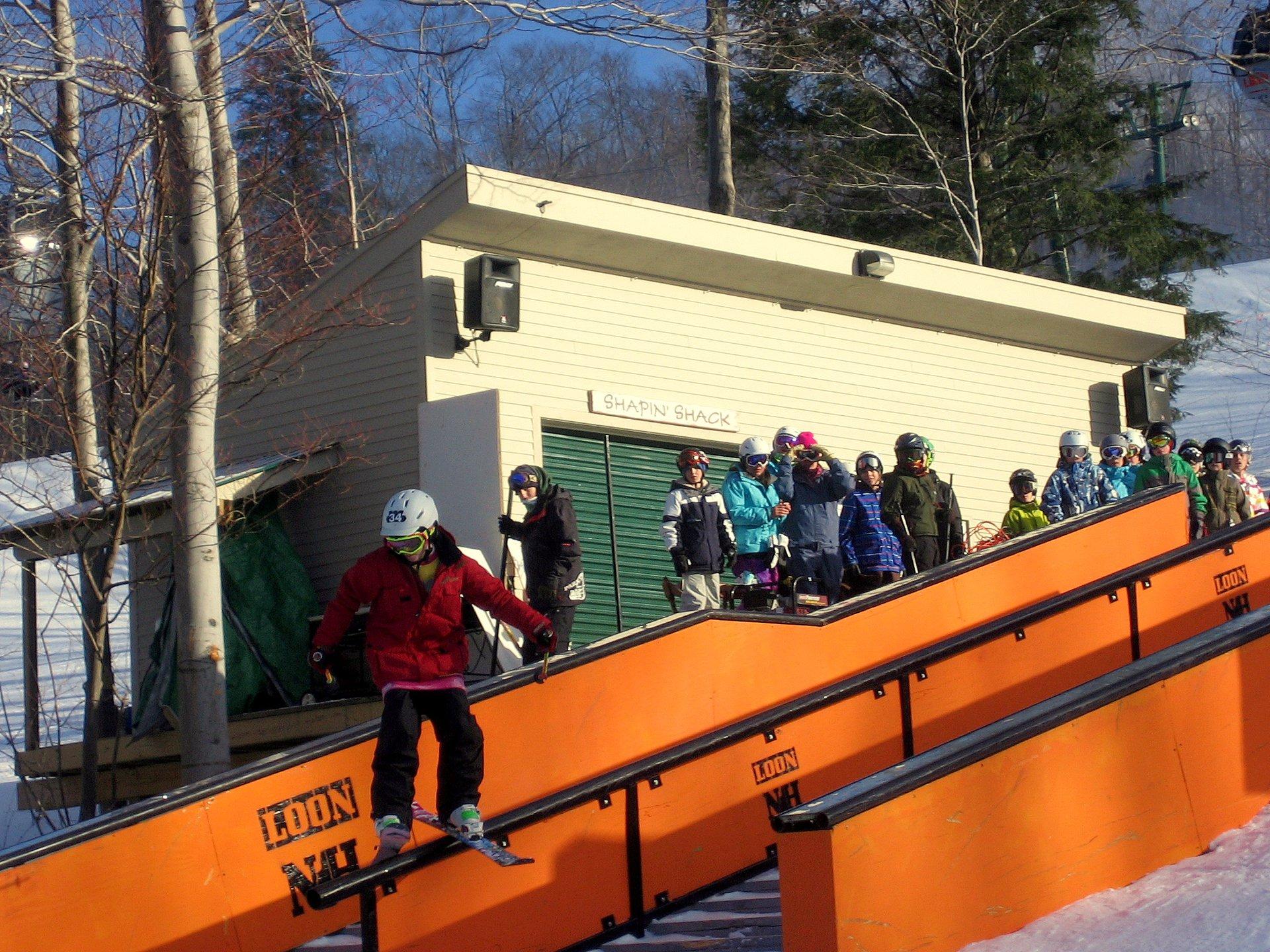 Sliding the Rail @ Jib Academy Finals