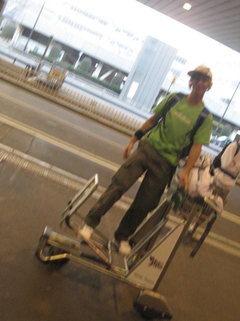 Fun at Tokyo Airport