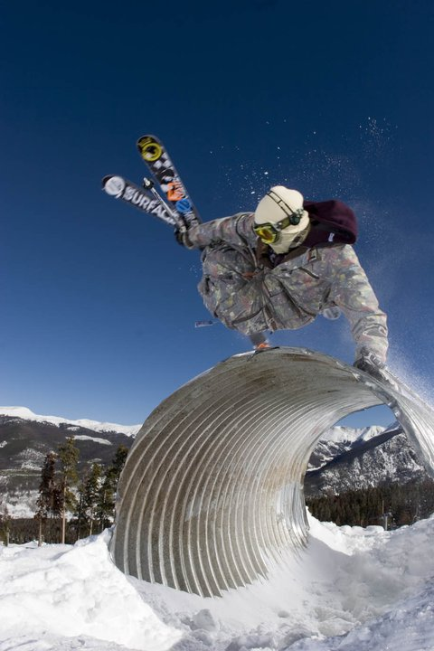 Hand Plant with Motion Blur