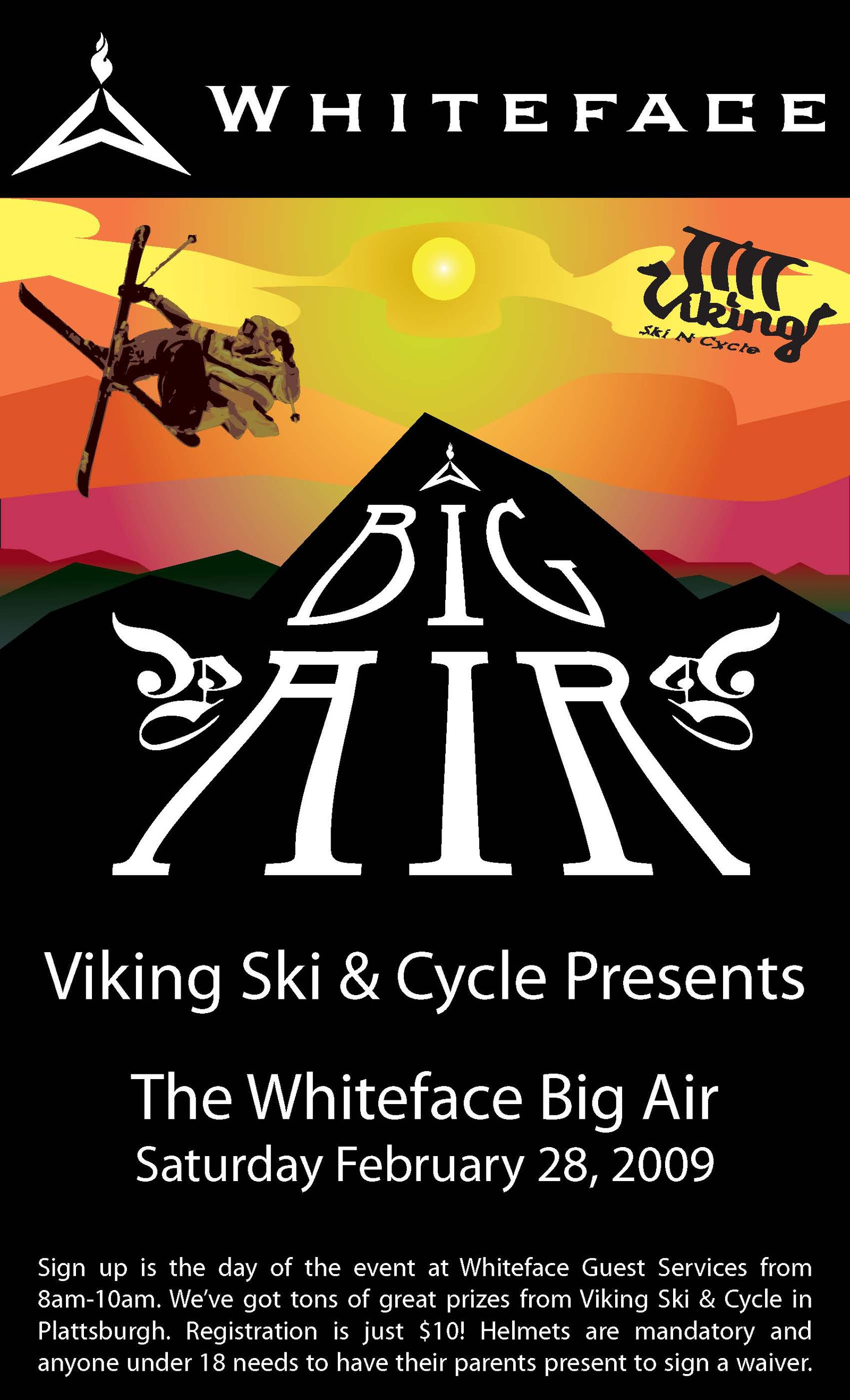 Whiteface Big Air Flyer