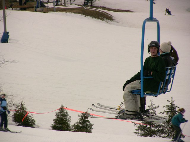Video still: sam on the blue lift