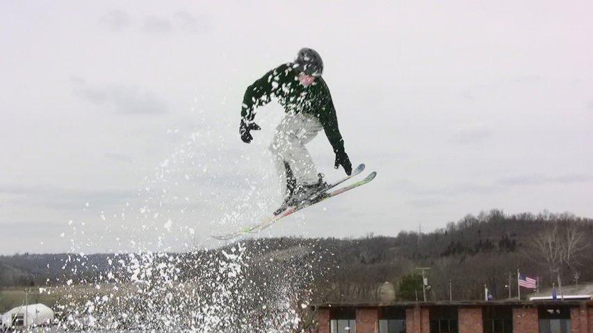 Video still: sam reaching for the grab