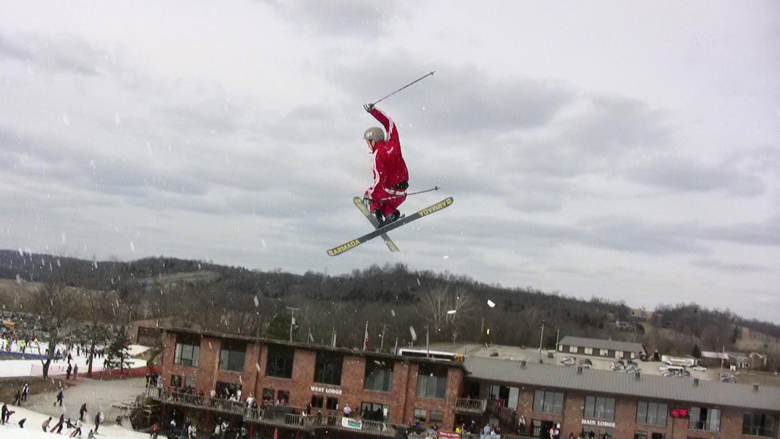Video still: abe grabs tail