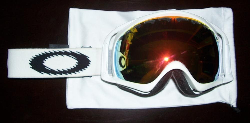 Oakley Crowbar Static White Fire Iridium