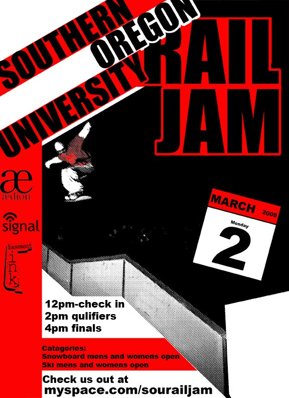 Southern Oregon University Rail Jam