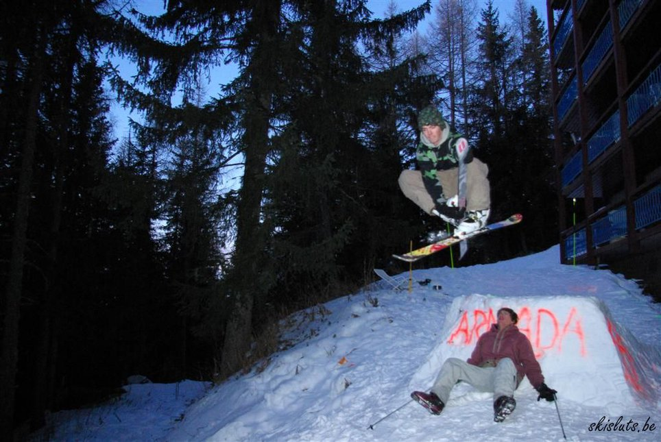 Skisluts Night Session @ Les Arcs - 1 of 32