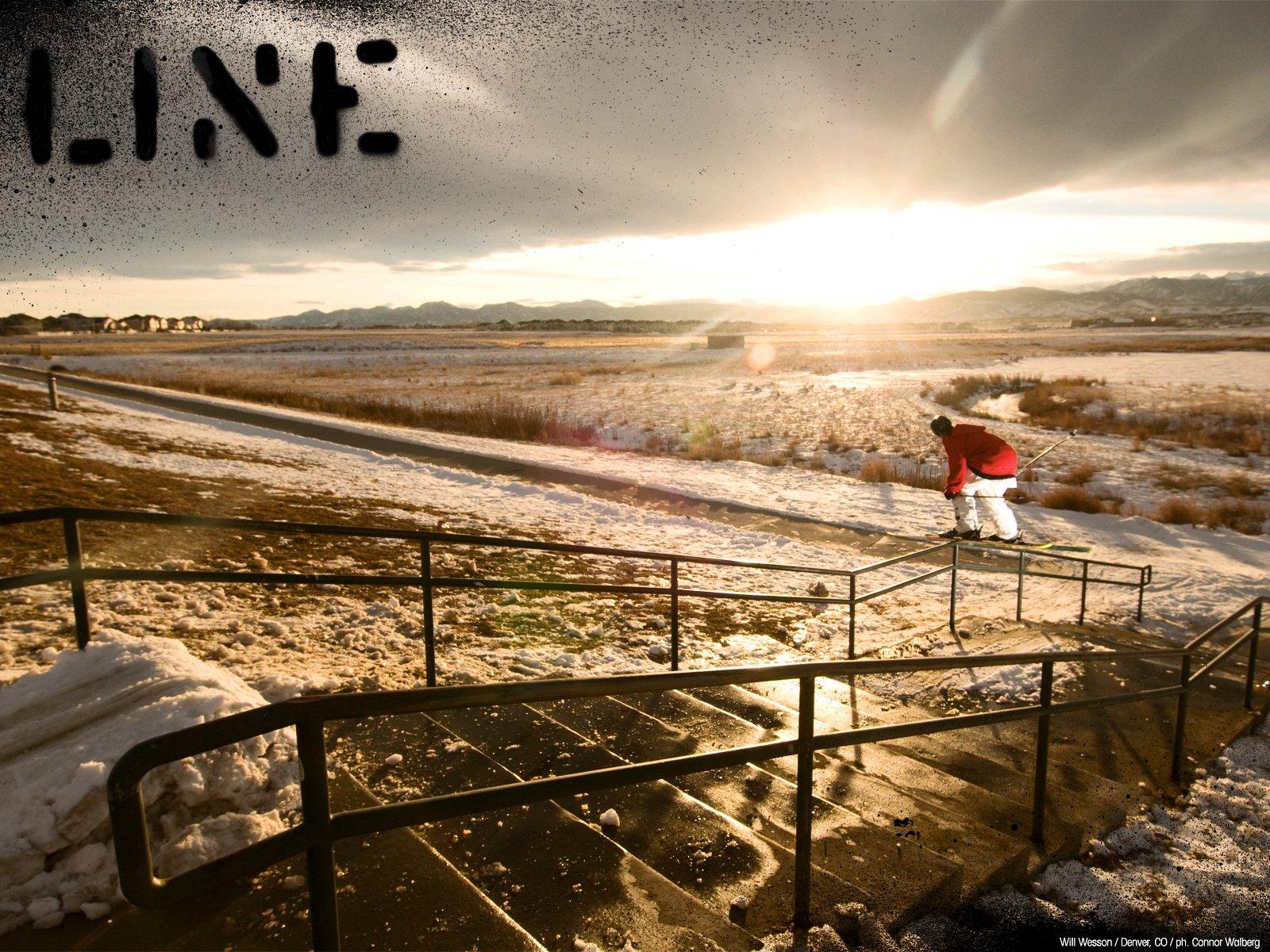 LINE Skiing.