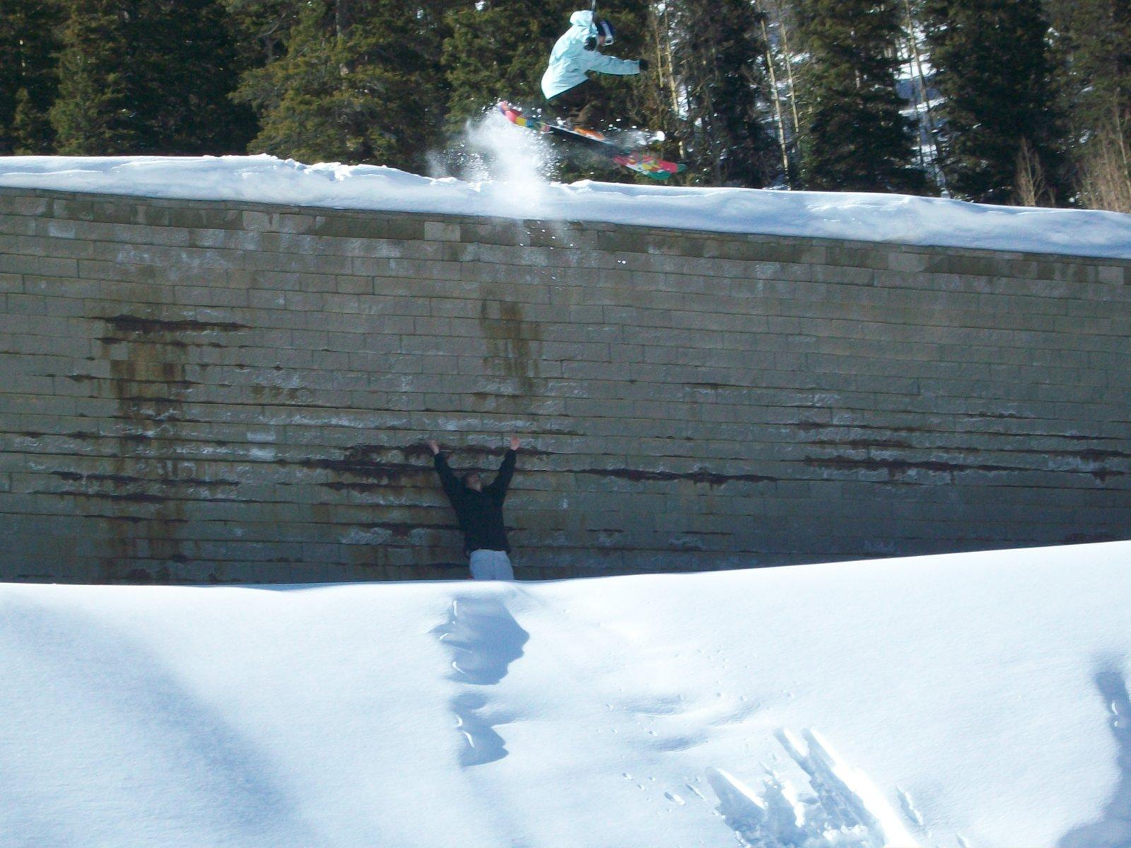 Retaining Wall 180 Drop