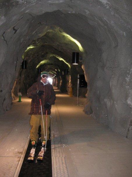 Tunnel through Snowbird