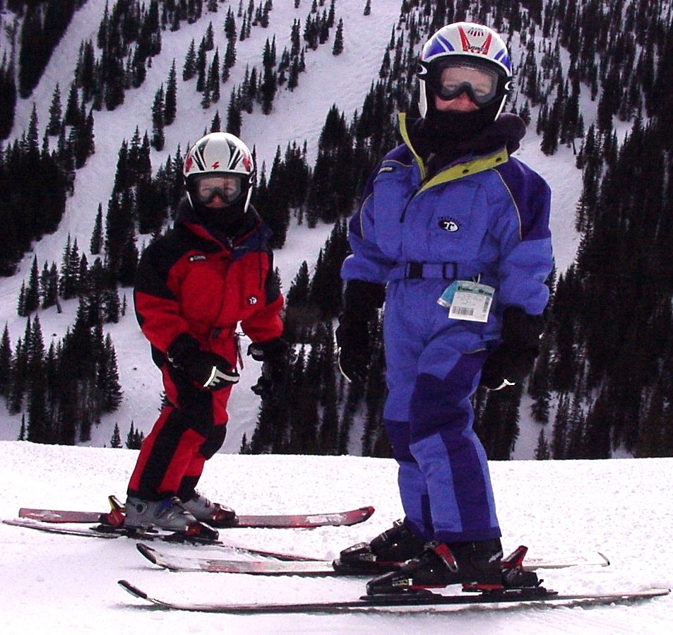 Steven and Ridge Winter Park 2001