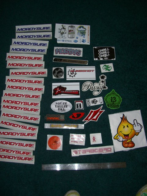Previously owned Stickers
