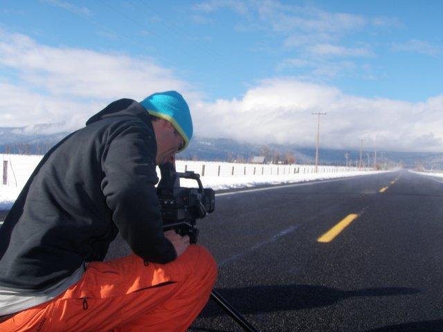 Getting the banger road shot