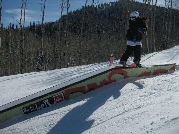 Skiing park city