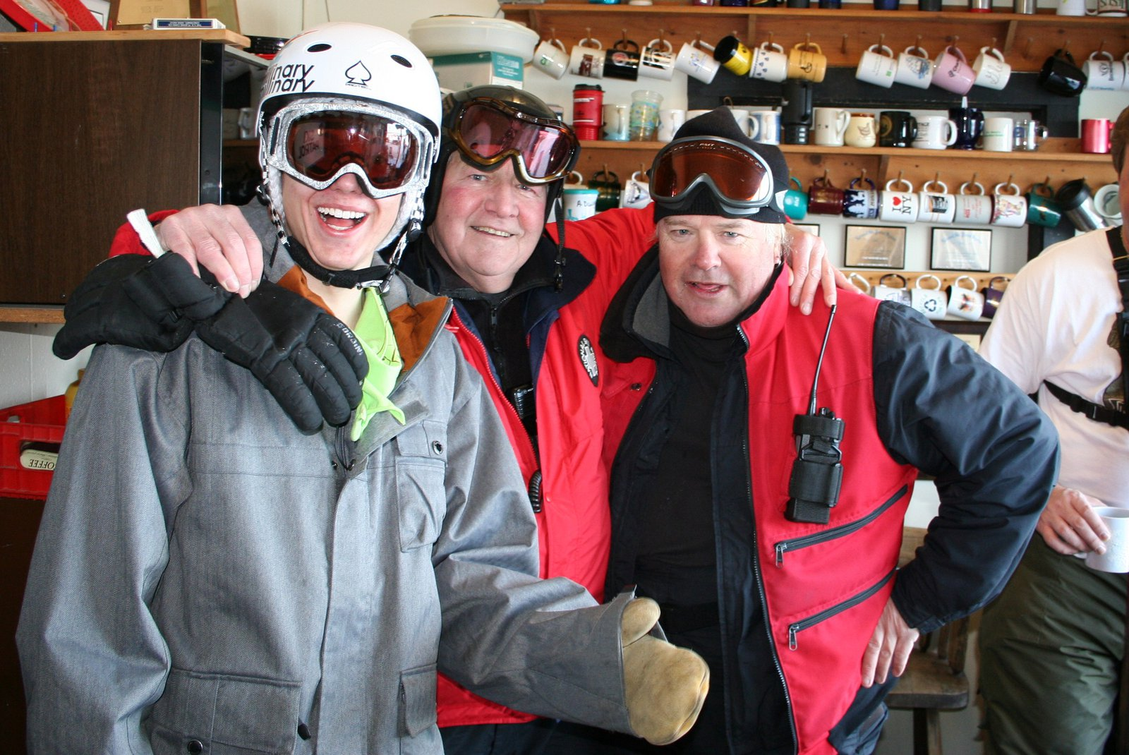 Ski patrol.