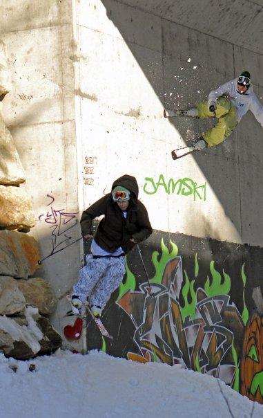 Wall ride