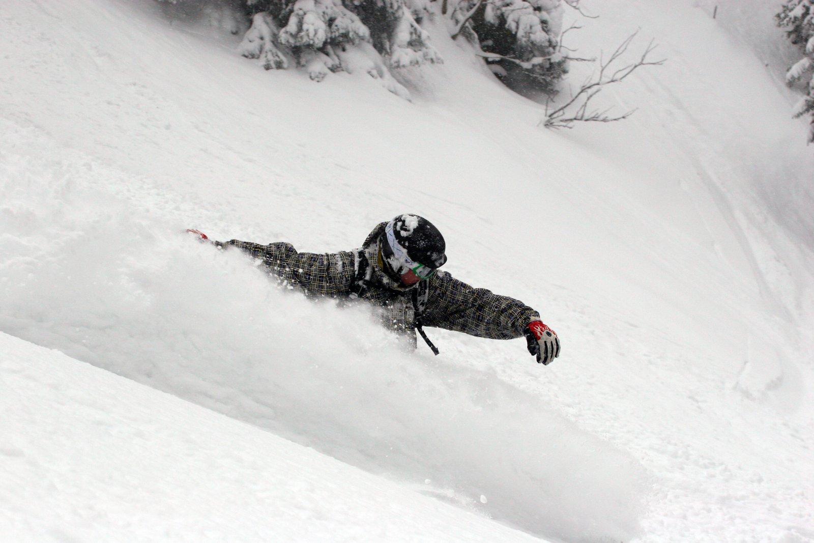 Snowboard turn #3