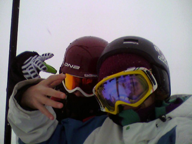 Me and eric at powder