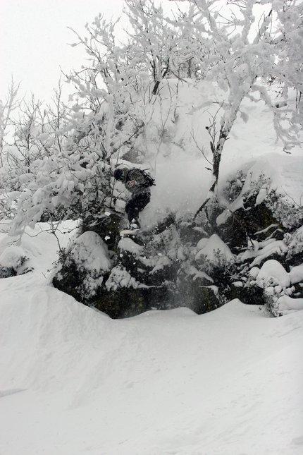 Snowboard drop #3