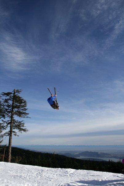 Sky diving?