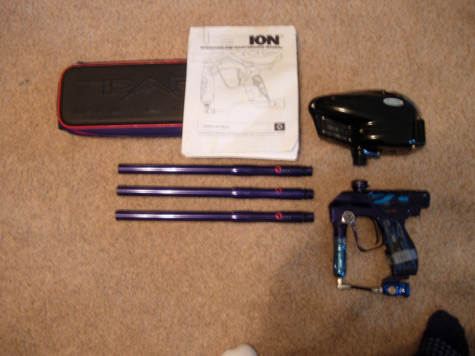 Includes barrel case and ion manual