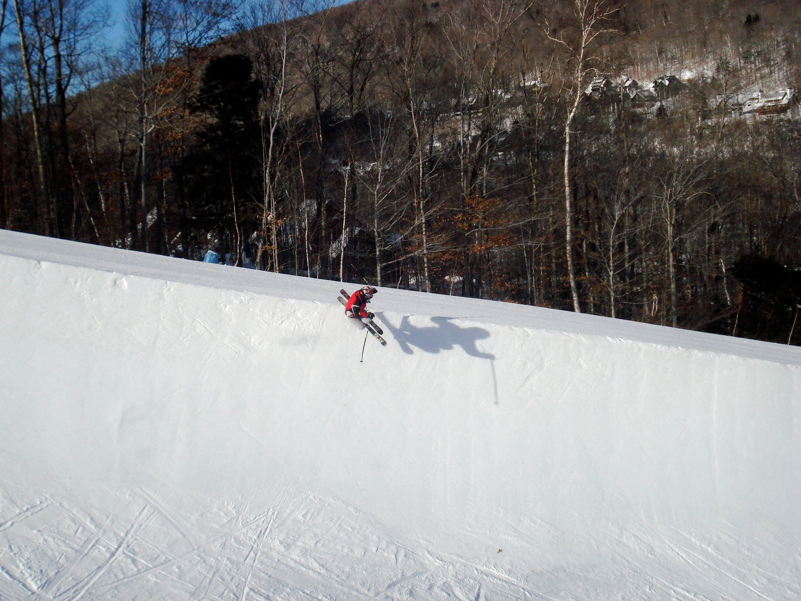 Me in the halfpipe at loon