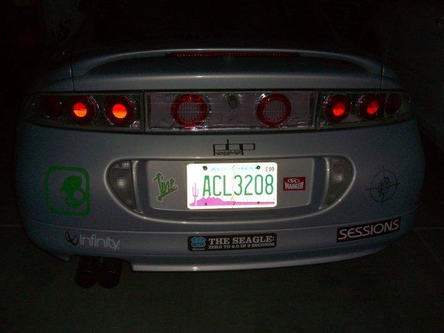 Car w/stickers 2/23/09