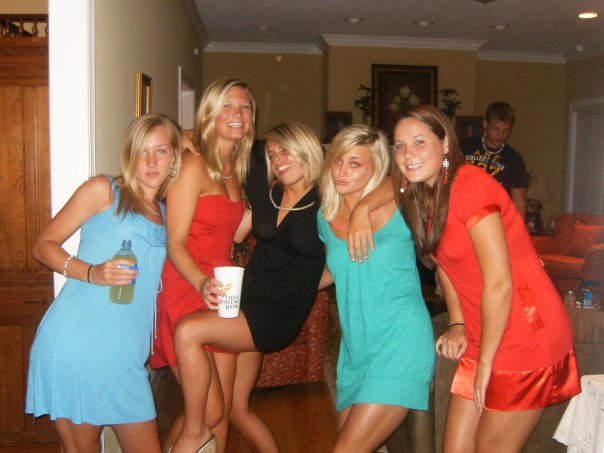 Me and the girls!