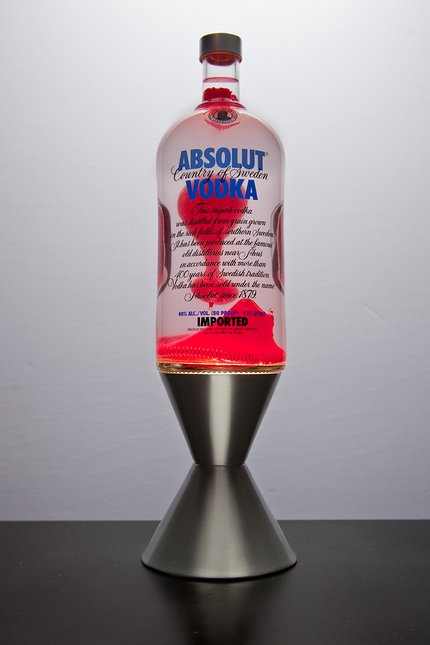 Absolut Lava Lamp