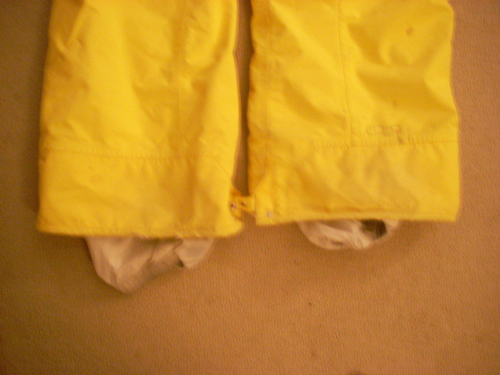 Yellow XL Four Square pants