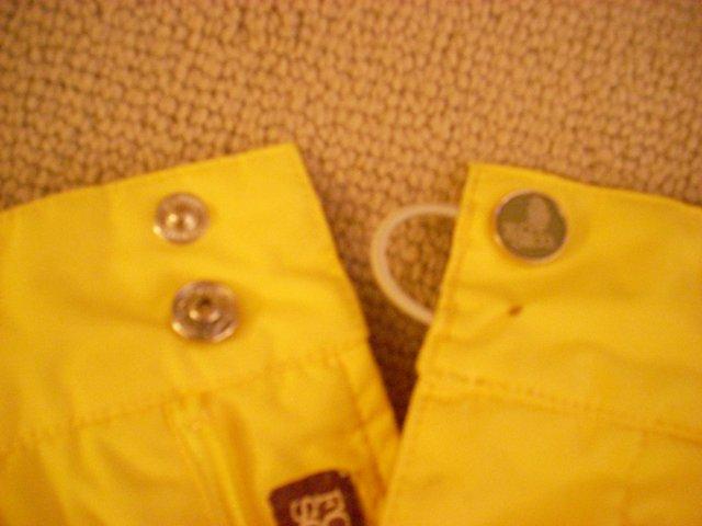 Yellow FourSquare Pants